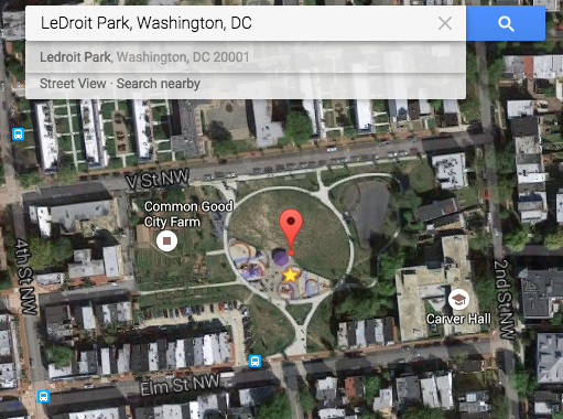 Park at Ledroit - Google Maps, all resoutions