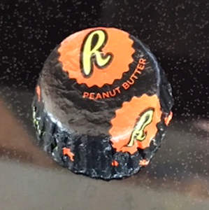 Faux Reese's cup