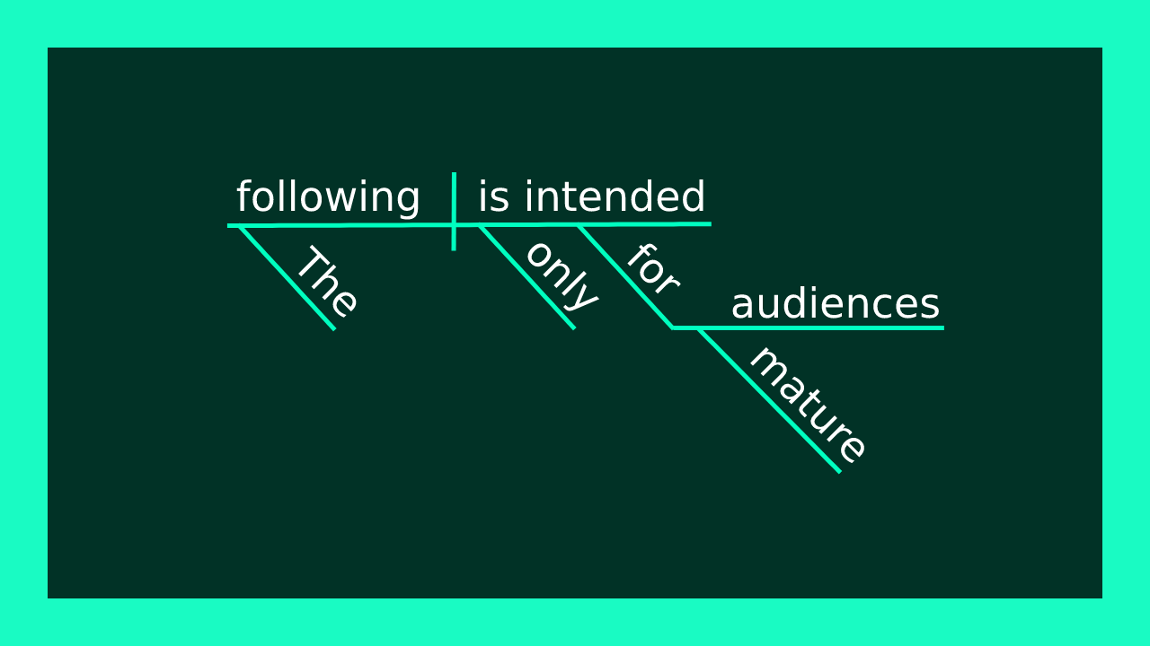 Sentence diagram where Only is an adjective modifying audiences.