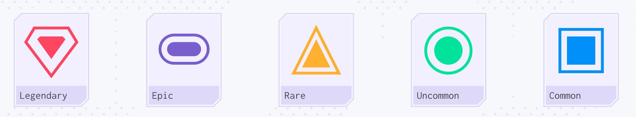 Rarity Levels